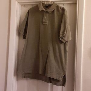 4/$20 Polo by RL sz large greenish gray polo shirt